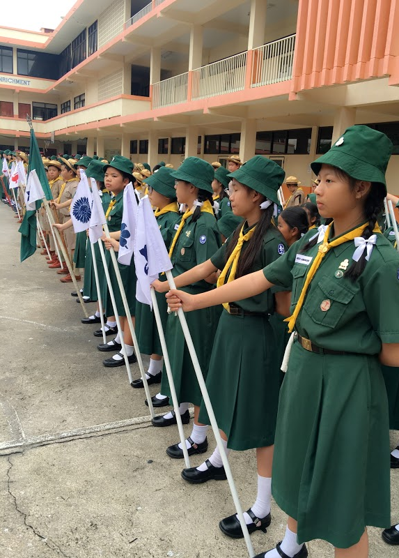 National Scout Day of Thailand – Chindamanee English Program